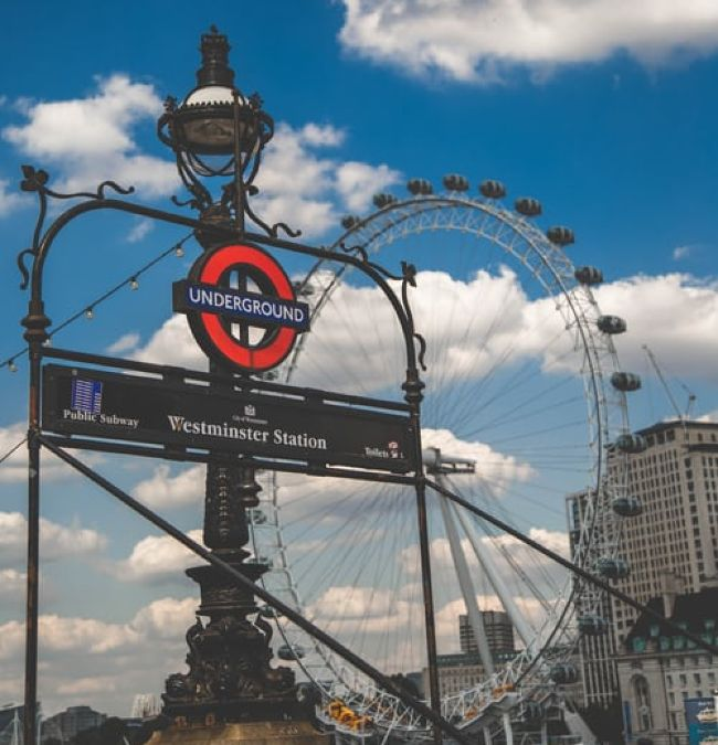 The London Eye at Westminster