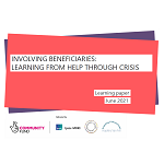 Front page of the benficiary report